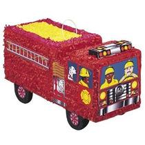 Unique Industries Inc. Para Hombre De Bomberos Piñata