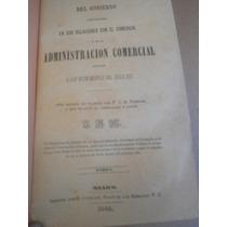 Del Gobierno En Relaciones Con Comercio Ferrier Mexico 1843