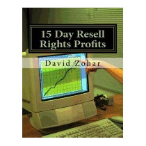 15 Day Resell Rights Profits, David Zohar