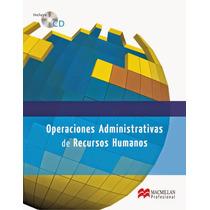 Operaciones Administrativas De Recursos Humanos - Libro