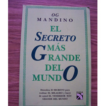 El Secreto Mas Grande Del Mundo-aut-og Mandino-ed-diana-hm4