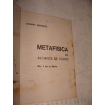 Libro Metafisica Al Alcance De Todos , Numero 1 De La Serie