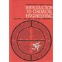 Introducción A La Ingeniería Química. Walter Badger.