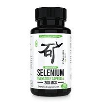 200 Mcg De Selenio Suplemento - Traza Esencial Mineral De Ap
