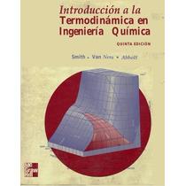 Libro: Introducción A La Termodinámica En Ing. Química Pdf