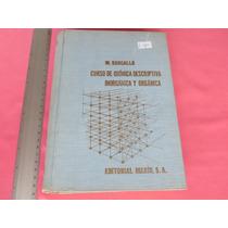 Bargallo, Curso De Química Descriptiva,inorgánica Y Orgánica