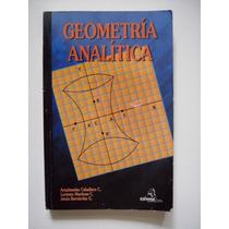 Geometría Analítica - Arquímedes Caballero - 2001 - Lbf