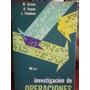 Investigacion De Operaciones, M. Sasieni