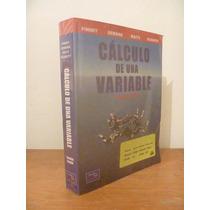 Cálculo De Una Variable. Finney. Segunda Edición. Prentice.