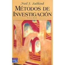 Metodos De Investigacion - Neil J. Salkind