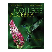 College Algebra With Connect Plus Access Code, John Coburn