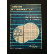 Tablas De Matematicas