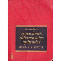 Ecuaciones Diferenciales Aplicadas Pdf