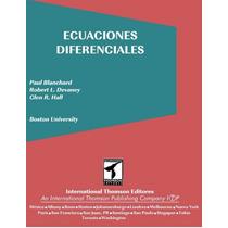 Ecuaciones Diferenciales Pdf