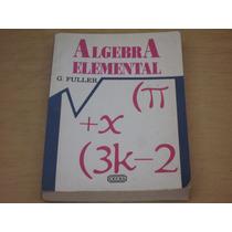 Gordon Fuller, Algebra Elemental, Cecsa, Mèxico, 1996,