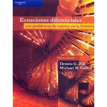 Ecuaciones Diferenciales Valores De Frontera Dennis G. Zill