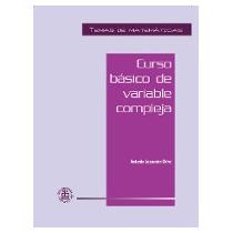 Libro. Básico De Variable Compleja. Antonio Lascurain