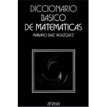 Diccionario Básico De Matemáticas Pdf