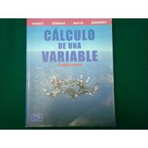 Finey, Waits, Kennedy, Cálculo De Una Variable