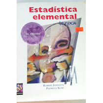 Estadística Elemental, Robert Johnson, Edit Thomson.