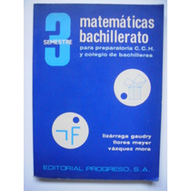Matemáticas Bachillerato 3 - Lizárraga Gaudry - 1977 - Maa