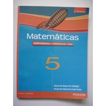 Matemáticas 5 - Eduardo Basurto Hidalgo - 2011 - Vv4