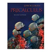 Combo: Precalculus With Mathzone Access Card, Coburn John
