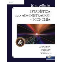 Estadística Para Administración Y Economía Pdf