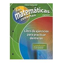 Matematicas Conectan, Curso 3: Libro De, Mcgraw-hill/glencoe