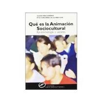 Libro Que Es La Animacion Sociocultural Epistemologia Y *cj