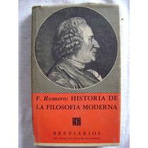 Historia De La Filosofía Moderna (1959) - Francisco Romero