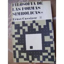 Filosofia De Las Formas Simbolicas, 1. Ernst Cassirer. $199.