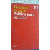 Fernando Savater :politica Para Amador