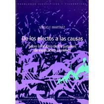 De Los Efectos A Las Causas - Sergio F. Martinez / Paidos