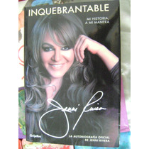 Inquebrantable, Jenni Rivera. $200.