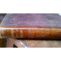 Libro Antiguo Sobre Telemaco, En Idioma Francés Siglo Xix