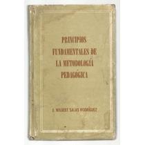Principios Fundamentales De La Metodología Pedagógica / Sala