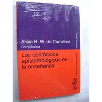 Los Obstáculos Epistemológicos En La Enseñanza (nuevo)
