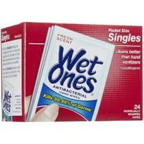 Wet Ones Húmedo Toallitas - 24ct - Fresh Aroma Antibacterian