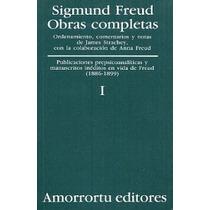 Obras Completas / Sigmund Freud / Tomo I. Edit. Amorrotu Vv4