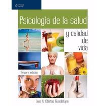 Libro: Psicología De La Salud Y Calidad De Vida Pdf