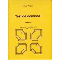 Test De Dominós. Paidos,pruebas Psicologicas,test,psicologia