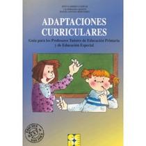 Adaptaciones Curriculares (guía)para Profesor-tutores Educ.