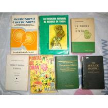 Lote De 7 Libros Sobre Ciencia Y Medicina