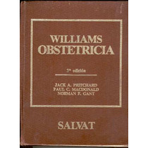 Pritchard. William. Obstetricia. 1993. Pida Fotos.