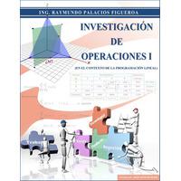 Investigación Operaciones, Programación Lineal.