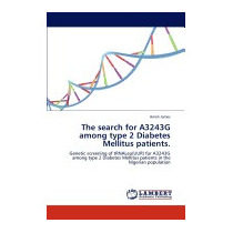 Search For A3243g Among Type 2 Diabetes Mellitus, Ameh James