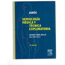 Libro Semiologia Medica Autor Suros Nuevo Edicion 8°