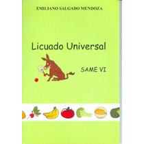 Libro Salud Licuado Universal Dieta
