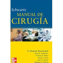 Manual De Cirugia De Schwartz, 8a Ed. Español Pdf